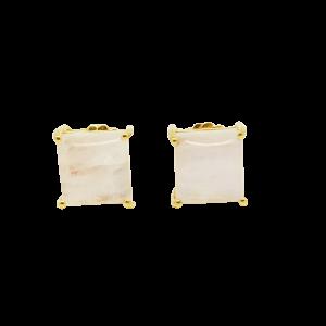 Pendientes Lagrima con Peridotos y Topacios blancos